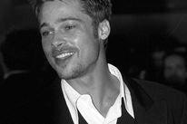 Brad Pitt, Golden Globe winner, in 1995
