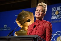 Sharon Stone announces nominations for the 75th Golden Globes