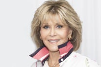 Actress Jane Fonda, Golden Globe winner