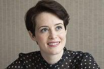 Actress Claire Foy, Golden Globe winner