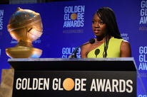 Danai Gurira presents nominations 2018