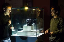 "Gael García Bernal and Leonardo Ortizgris in ""Museo"" (2018)"