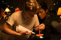 """Lauren 'Lolo' Spencer and Chris Galust in """"Give Me Liberty"""" (2019)"""