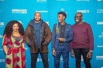 Director Sola Amoo & cast at Sundance 2019