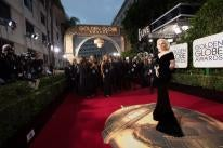 Red Carpet arrivals at the 73rd Golden Globes, featuring Lady Gaga