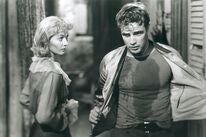 """A scene from """"A Streetcar Named Desire"""", 1951"""