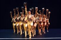 Antonio Banderas on stage , A Chorus Line, Malaga, Spain, 2019