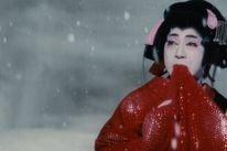 Actor Kazuo Hasegawa in a scene from Kon Ichigawa's An Actor Revenge