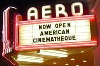 American Cinematheque - Aero Marquee