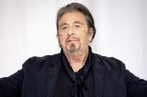 Actor Al Pacino, Golden Globe winner