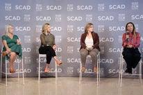 Alison Owen, Cathy Konrad, Kaila York and Francesca Silvestri