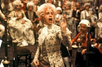 "A scene from ""Amadeus"", 1984, Golden Globe winner"