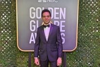 Music editor Anele Onyekwere at the 2019 Golden Globes