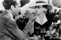 """A scene from """"Now Voyager"""" with Bette Davis and Paul Henreid"""