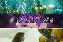"Scenes from ""Aquaman"", ""Mary Poppins Returns"", ""Bumblebee"""