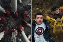 """Scenes from """"Avengers: Endgame"""" and """"Detective Pikachu"""""""