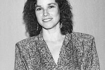 Actress Barbara Hershey, Golden Globe winner