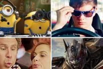 "Scenes from ""Despicable Me 3"", ""Baby Driver"", ""The House"" and ""Transformers: The Last Knight"""