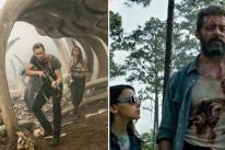 Scenes from Kong:Skull Island and Logan