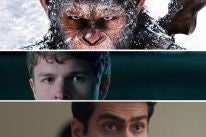 Scenes from War for the Planet of the Apes, Baby Driver and The Big Sick