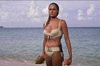 """Ursula Andress in a scene from """"Dr No"""", 1962"""