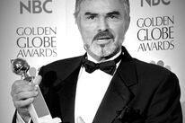 Actor Burt Reynolds, Golden Globe winner