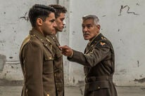 """George Clooney in a scene from the miniseries """"Catch 22"""", 2019"""