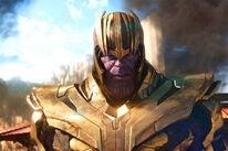 Josh Brolin as Thanos in Avengers Endgame