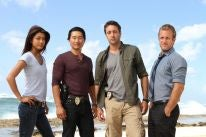 Daniel Dae Kim, Grace Park and the cast of Hawaii Five O