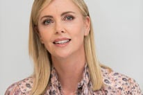 Actress and producer Charlize Theron, Golden Globe winner