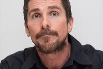 Actor Christian Bale, Golden Globe winner and nominee