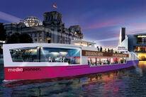 A cinema ship in Berlin, 2020