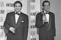 Actor Andy Garcia, Golden Globe nominee, and actor Nick Nolte, Golden Globe winner