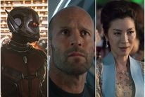 "Scenes from ""Crazy Rich Asians"", ""The Meg"" and ""Ant Man and the Wasp"""