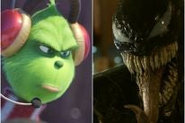 Scnes from The Grinch and Venom