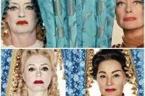 Bette Davis, Joan Crawford, Jessica Lange and Susan Sarandon