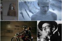 Scenes from Greek films Son of Sofia, Limbo,Amerika Square and The Ogre of Athens