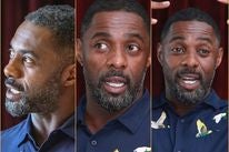 Actor Idris Elba, Golden Globe winner