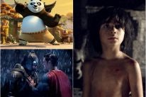 Scenes from Kung Fu Panda 3, Batman Vs Superman; and The Jungle Book
