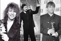 Jon Bon Jovi, Bruce Springsteen and Elton John, Golden Globe winners