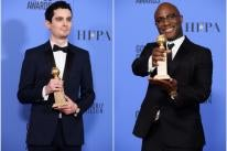 Directors Damien Chazelle and Barry Jenkins, Golden Globe winners