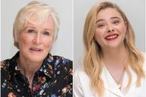 Actresses Glenn Close and Chloe Moretz