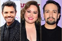 Eugenio Derbez, Tanya Saracho and Lin-Manuel Miranda