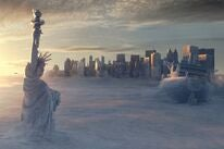 """A scene from """"The Day After Tomorrow"""", 2004"""
