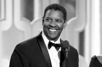 Denzel Washington accepting his Cecil B. deMille in 2016