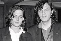 Johnny Depp and Director Emir Kusturica in Cannes 1993