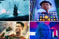 "Scenes from ""Dunkirk"", ""The Emoji Movie"", ""Wolf Warriors II"" and ""Atomic Blonde"""