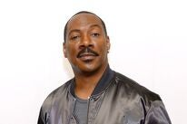 Comedian and actor Eddie Murphy, Golden Globe winner