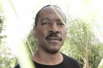 Actor Eddie Murphy, Golden Globe winner