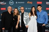 Presenters at the Nominatiosn Announcemnet for the Platino Awards 2017